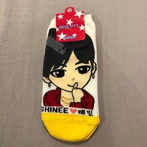 Taemin Shinee K-pop Ankle Socks
